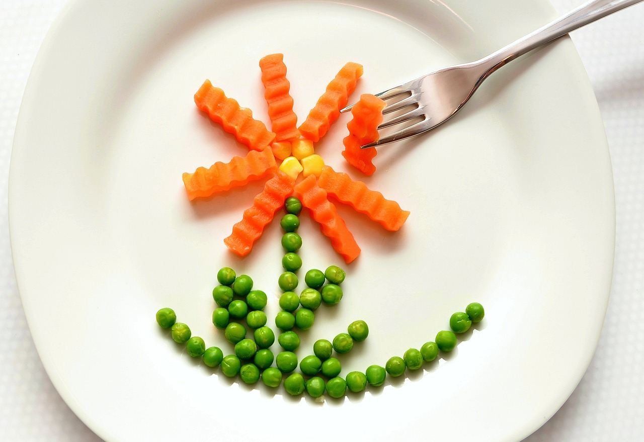 bambini verdure temperare carote
