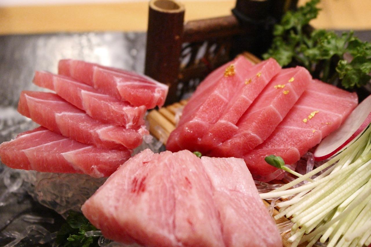 sashimi tonno fresco