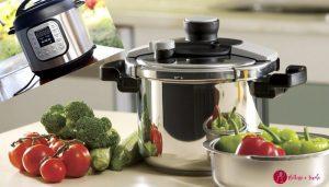 Cucinare nella pentola a pressione elettrica o tradizionale