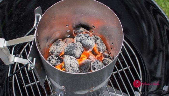 griglia a carbonella
