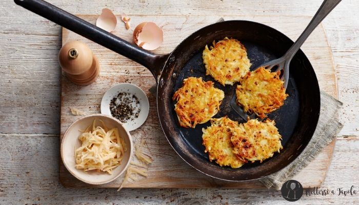 Hash Browns le frittelle di patate
