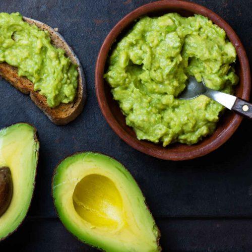 guacamole di avocado
