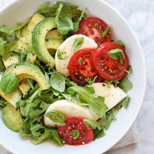 insalata con avovado