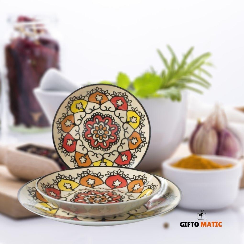 servizio piatti in porcellana