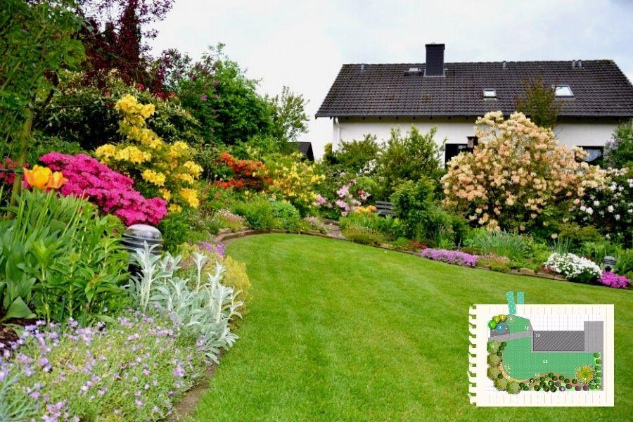 come organizzare il giardino -